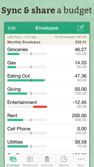 Goodbudget Budget Planner - Expense Tracker Personal Finance Manager
