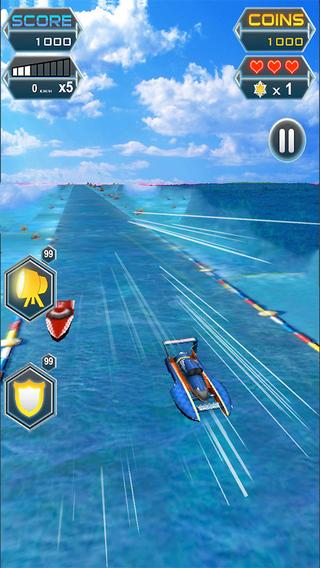 Speed Racing Boat