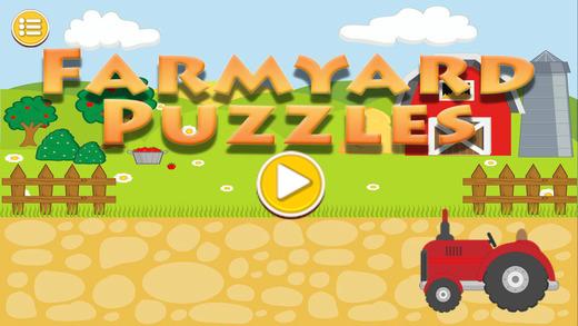 Farmyard Animal Puzzles
