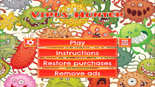 Virus Hunter - FREE - Slide Rows And Match Virus Types Super Puzzle Game