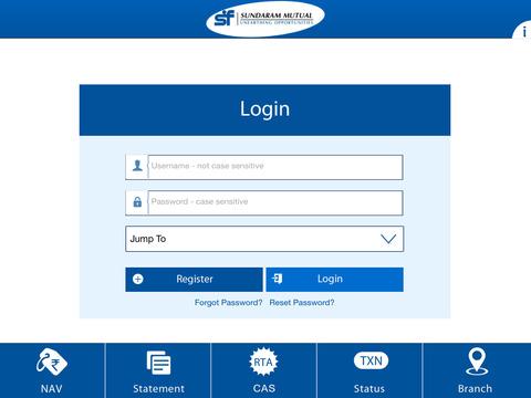 Sundaram Mutual Fund for iPad