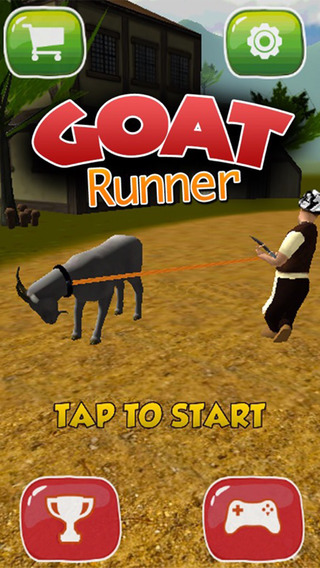 Angry Goat Run - A goat running 3d simulator game