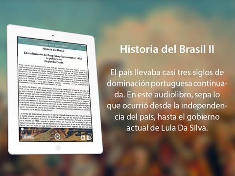 Historia del Brasil II (desde el Imperio al siglo XXI) iPad Screenshot 1
