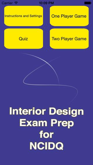 Interior Design Fundamentals Exam Prep IDFX for NCIDQ