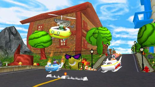 Fast Food 3D Racing