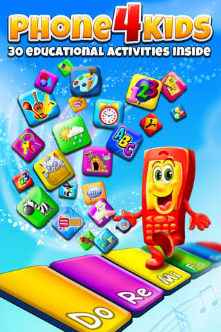 Screenshot 1 Phone for Kids – All in One Activity Center for Children HD