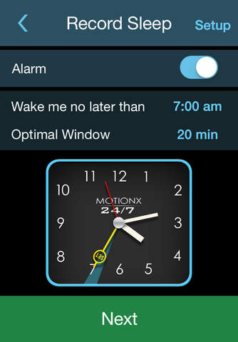 Sleeptracker® 24/7 screenshot 4