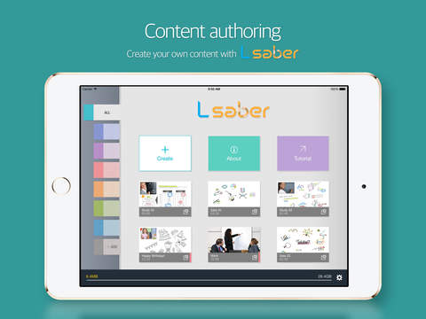 L-saber – Portable Content Creator Editor