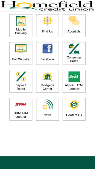 Homefield Credit Union Mobile App