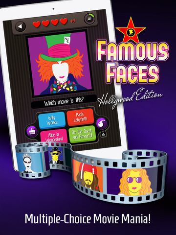 Famous Faces: Hollywood Editionscreeshot 1