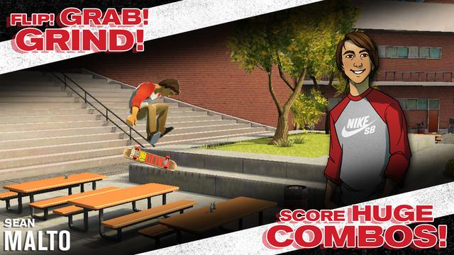 Review Game Transworld Endless Skater