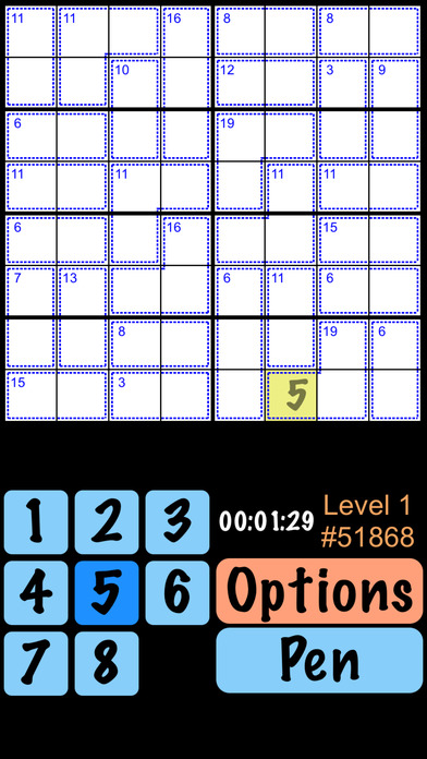 Mister Sudoku iPhone Screenshot 2