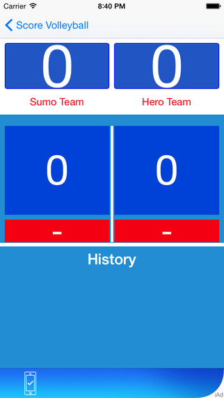 Volleyball Score