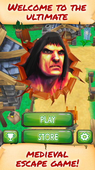 Brutal Barbarian Attack - FREE - Medieval Fantasy Wild Fighter Street Runner Game