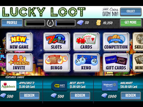 lucky loot casino code