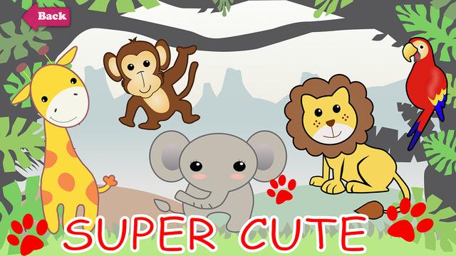 「快乐动物园」依照动物属性共分为三种情境图片