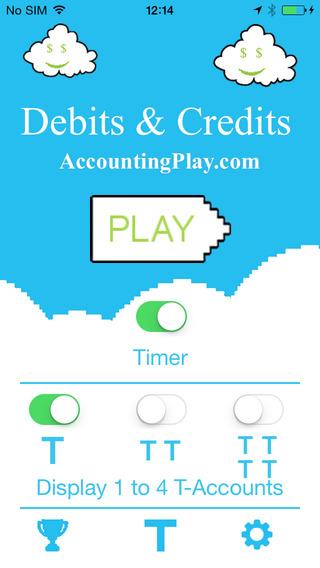 Accounting Play - Debits Credits