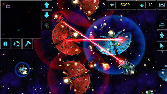 Star Armada space strategy RTS