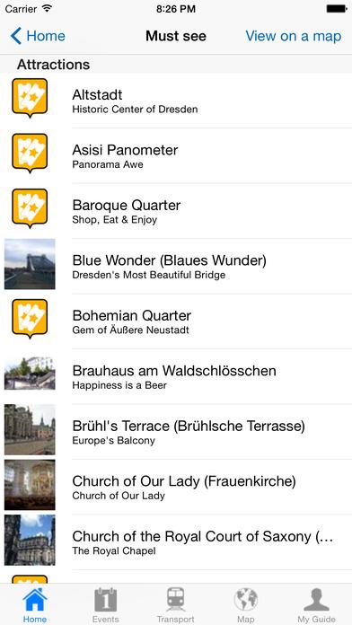 Dresden Travel Guide Offline iPhone Screenshot 4