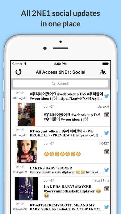 download All Access: 2NE1 Edition - Music, Videos, Social, Photos, News & More! apps 4