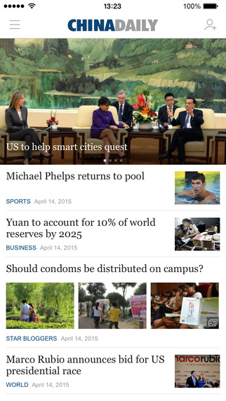 China Daily for iPhone