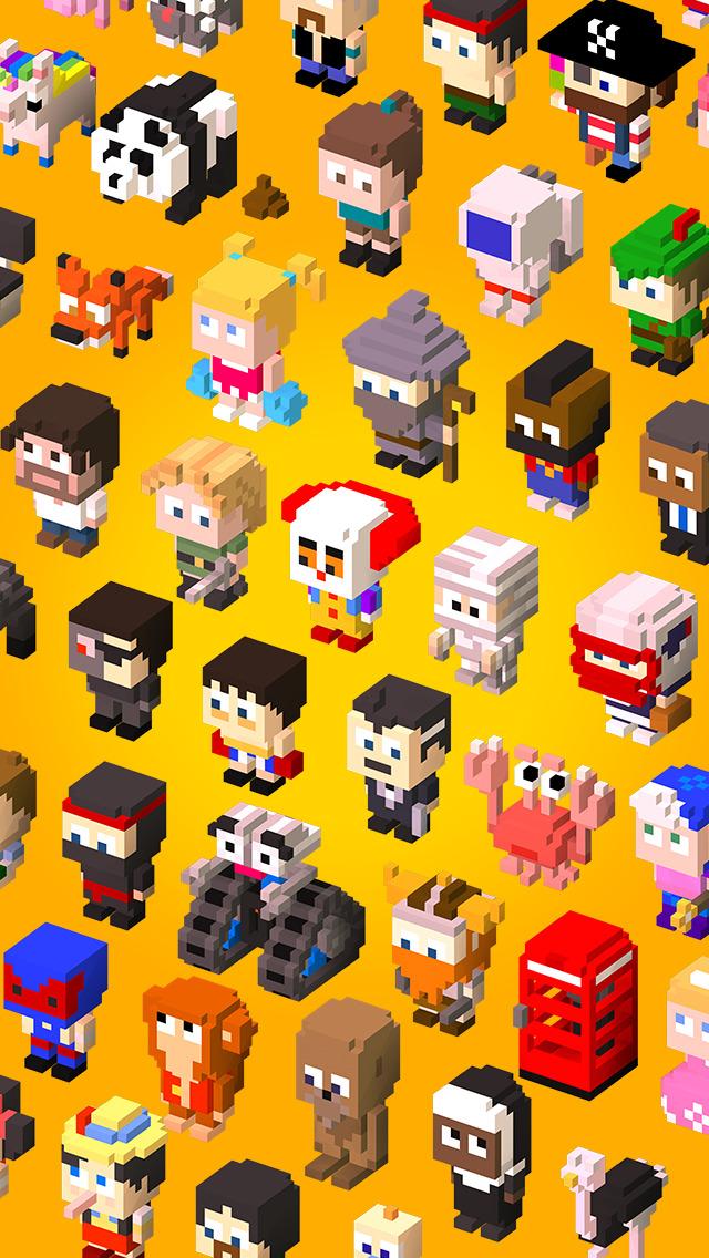 Blocky Raider  Screenshot