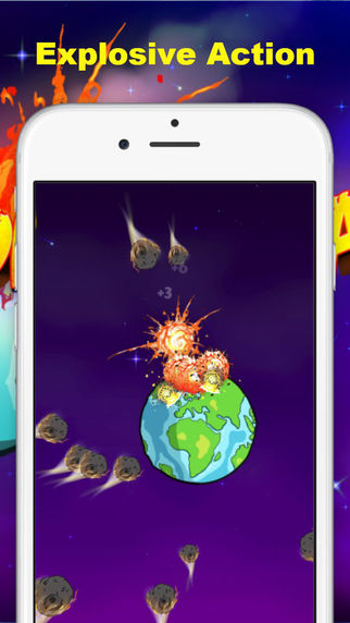 Comet Clash–Save people of Earth from 1st Interstellar Space station to preserve the planets populat