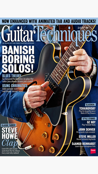 Guitar Techniques: the guitar magazine to make you a better player