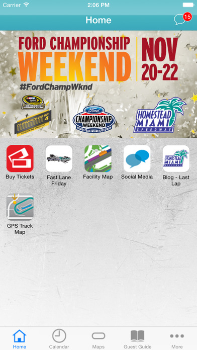 Homestead miami speedway on the app store for Homestead motor speedway schedule