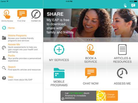 My EAP for iPad