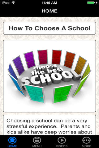 How To  Choose a Right School For Kids - Best Beginner's Guide screenshot 1