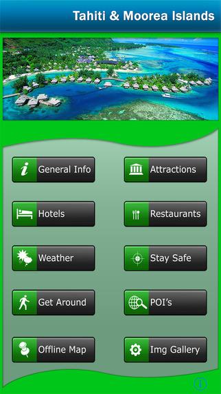 Tahiti Moorea Offline Map Navigator