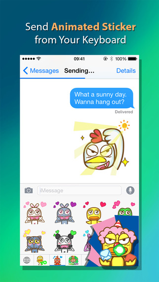 Duckey - Animated GIF Sticker Keyboard with Love