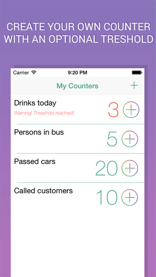 Count Plus - Keep track of everything everywhere