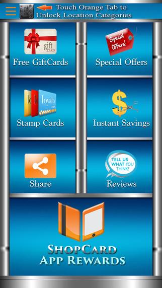 ShopCard App Rewards