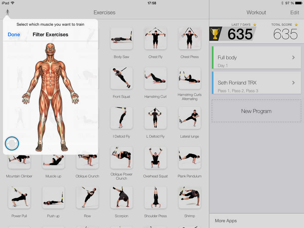 App Shopper: Virtual Trainer Suspension (Healthcare & Fitness)