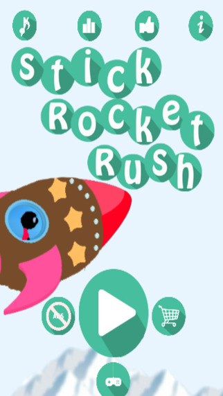 Stick rocket rush