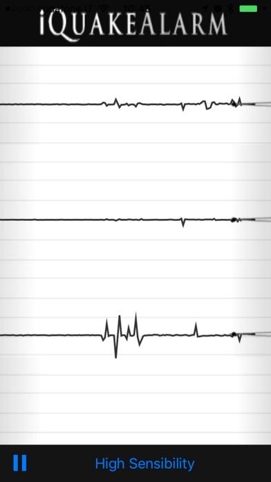 iQuakeAlarm iPhone Screenshot 2