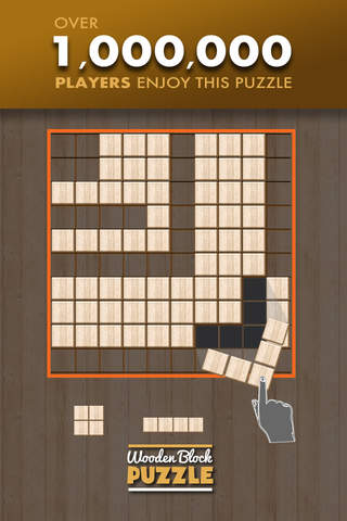 Wooden Block Puzzle Game screenshot 1