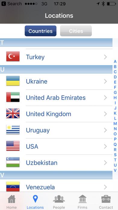 Kreston International - Member Directory, a global network of independent accounting firms iPhone Screenshot 4