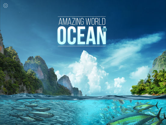 Amazing World OCEAN - Interactive 3D Encyclopedia 앱스토어 스크린샷