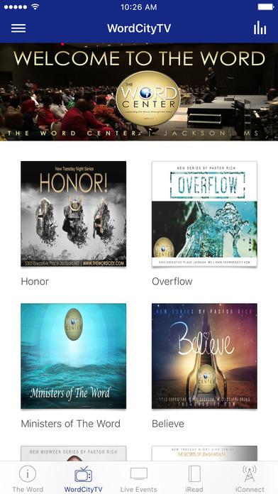 The Word Center iPhone Screenshot 2