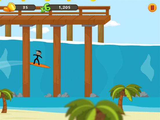 Stickman Surfer screenshot 6