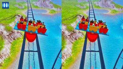 Vr Stunt Roller Coaster Rush screenshot 2