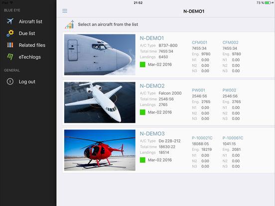 Blue Eye iPad Screenshot 1