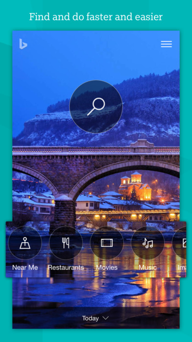 Screenshots of Bing – Fast and beautiful mobile search engine for iPhone