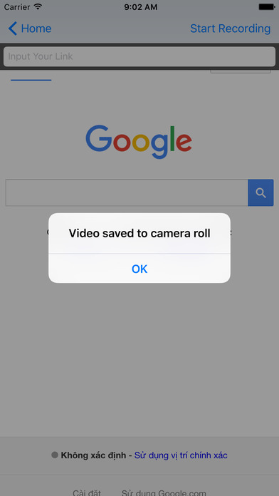 Amazing video Recorder - record direct for Browser Apps for iPhone/iPad screenshot