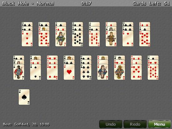 Golf Solitaire 4 in 1 iPad Screenshot 3