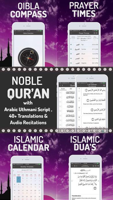 Islamic Calendar +Quran, Athan, Prayer Time Muslim app image