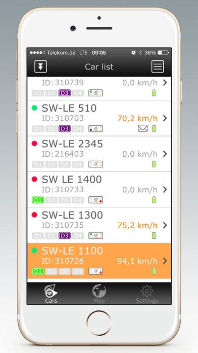 GPS-Explorer iPhone Screenshot 1
